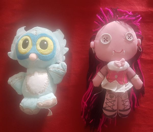 Draculaura e Sir Hoot a Lot - Monster High (Mattel)